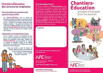 Tract Chantier-Education